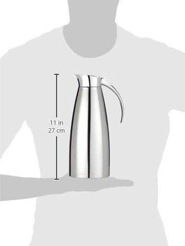 Paderno World Cuisine 41650-10 Insulated Beverage Server Medium Gray