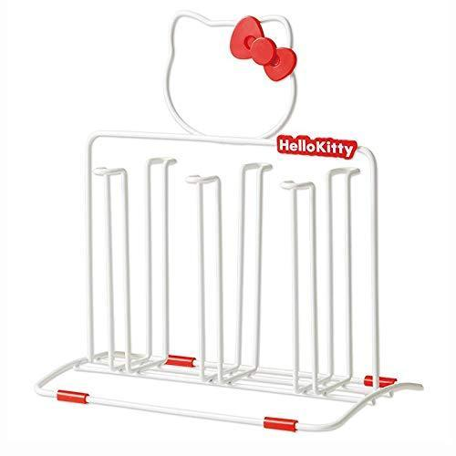 Budget friendly best quality other utensils hello kitty stainless steel cup holder knife cutting board rack pot rack lid storage racks kitchen supplies yyj0 by seedworld 1 pcs
