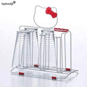 Buy best quality other utensils hello kitty stainless steel cup holder knife cutting board rack pot rack lid storage racks kitchen supplies yyj0 by seedworld 1 pcs