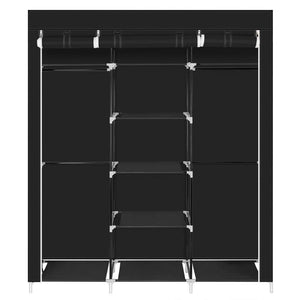 Top hello22 69 closet organizer wardrobe closet portable closet shelves closet storage organizer with non woven fabric quick and easy to assemble extra strong and durable extra space