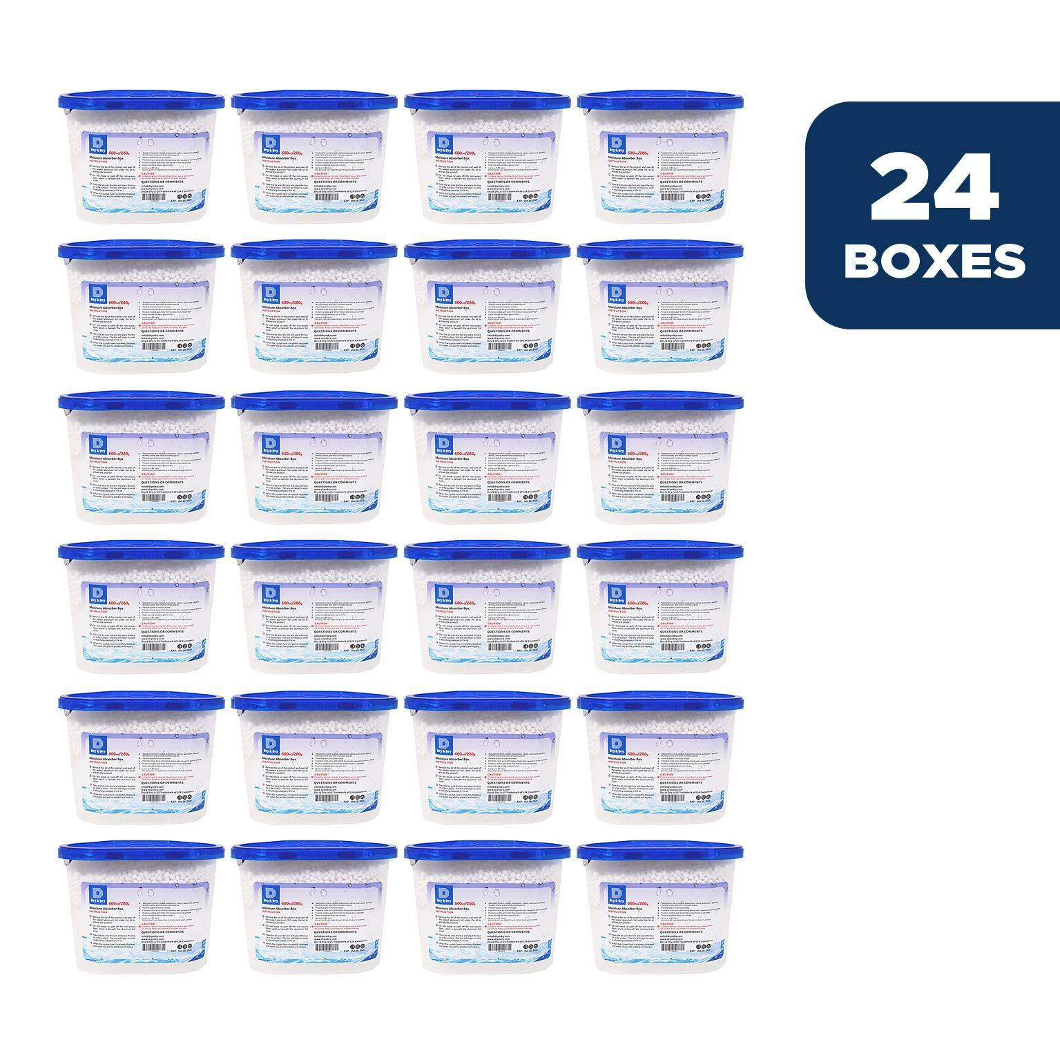 Online shopping dry dry 24 boxes net 10 oz box premium moisture absorber musty odor eliminator boxes to control excess moisture for basements closets bathrooms laundry rooms