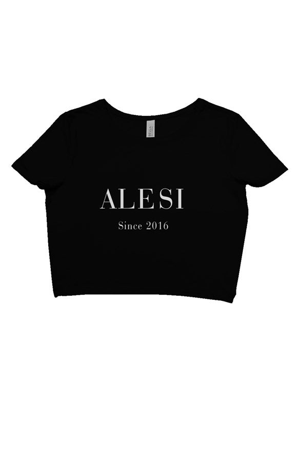 ALESI FOUNDERS CROP TOP TEE
