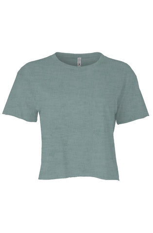ALESI PLAIN CROP TOP