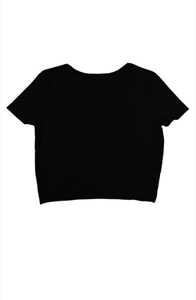 TDM MESSAGE CROP TOP