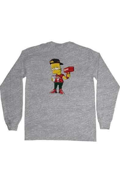 TDM MONEY GUN LONG SLEEVE T-SHIRT