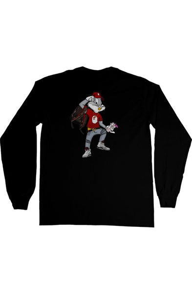 TDM BUNNY SWAGG LONG SLEEVE T-SHIRT