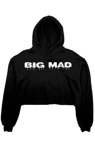 TDM BIG MAD CROP TOP HOODIE