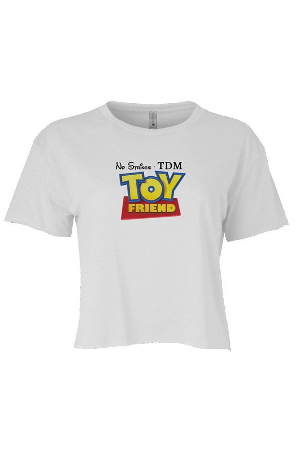 TDM TOY FRIEND MEME CROP TOP