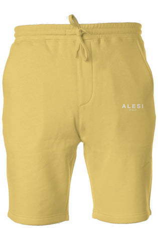 ALESI VINTAGE PIGMENT DYED FLEECE SHORTS