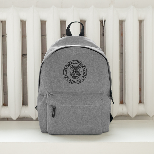 ALESI JANUS EMBROIDERED BACKPACK