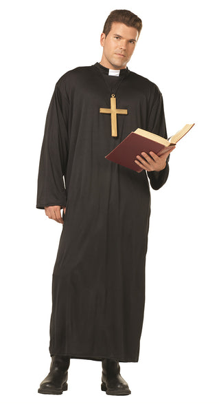 18005 Priest Costume Black