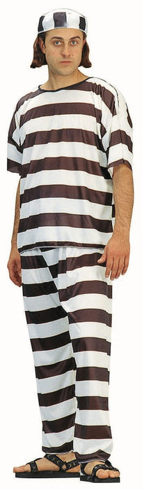 18008 Convict Striped Costume