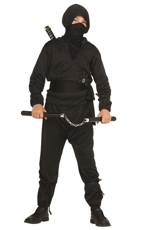 19040 Black Ninja Costume Child
