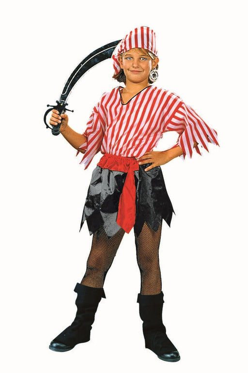 19108 Child Halloween Costume - Pirate Girl