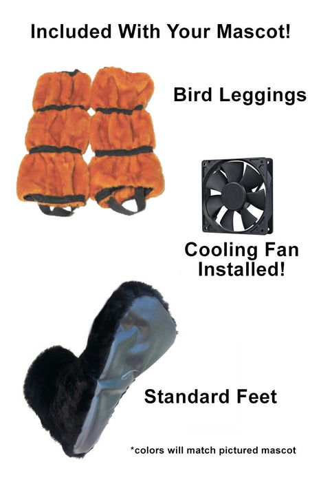 Roadrunner Bird Mascot Costume (Thermolite)