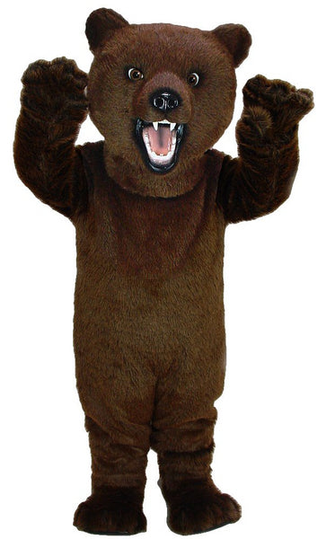 21031 Fierce Grizzly Bear Mascot Costume