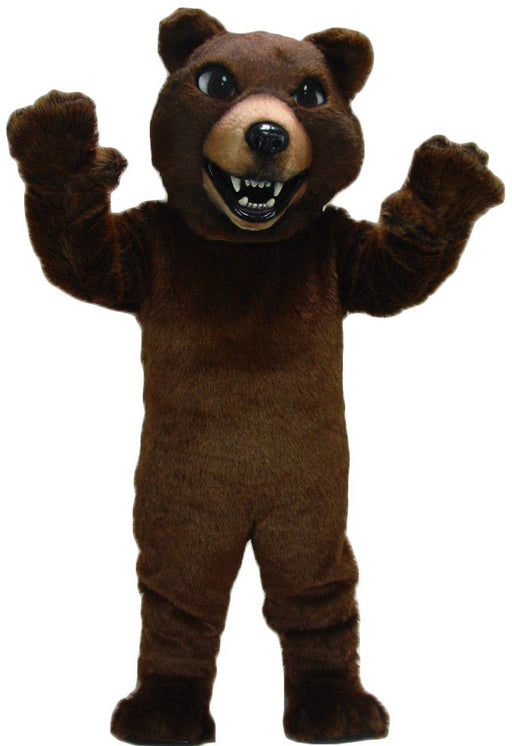 21032 Brown Grizzly Bear Mascot Costume