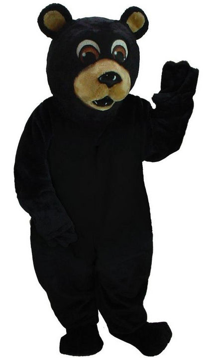 21037 Black Bear Mascot Costume