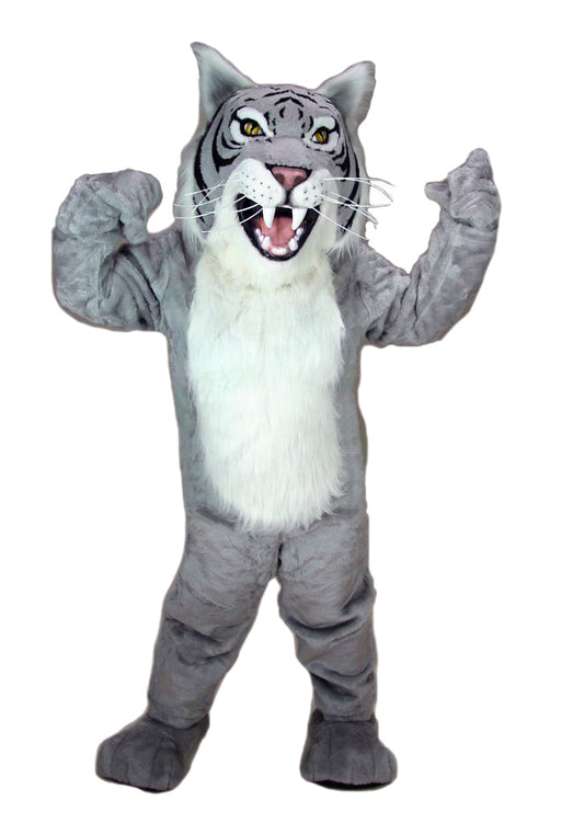 23083 Grey Wildcat Costume Mascot