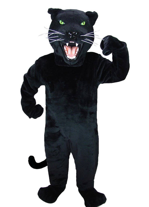 Black Panther Mascot Costume 23084 MaskUS