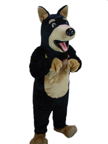 25133 Doberman Dog Mascot Costume