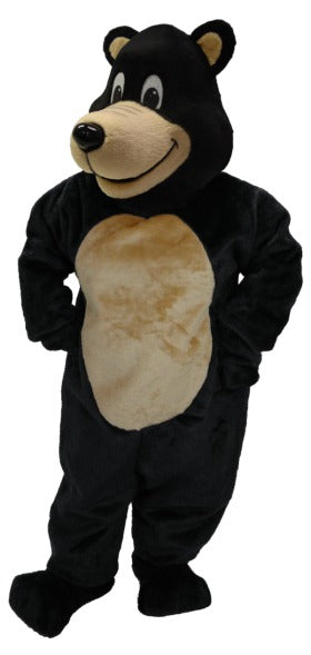 41047 Bongo Black Bear Mascot Costume