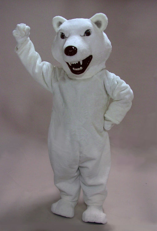 41416 Mean Polar Bear Mascot