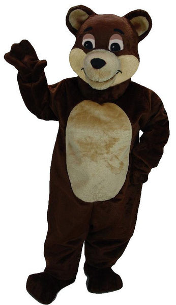 41421 Chocolate Bear Mascot Costume