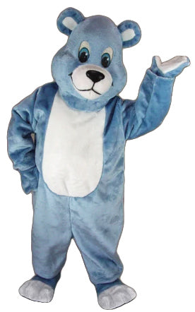 41423 Blue Bear Mascot Costume