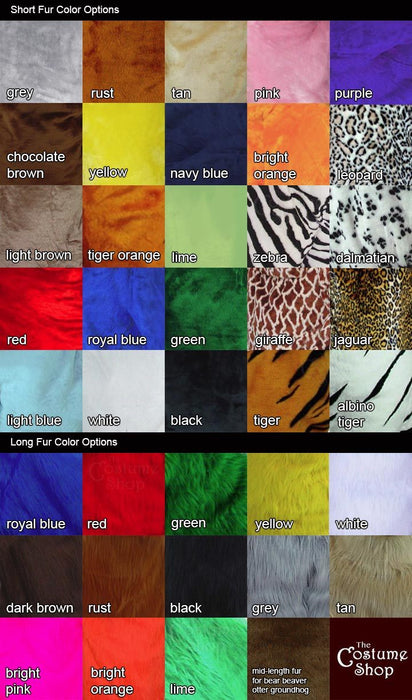 Custom Mascot Costume Colors