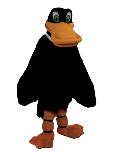42069 Black Duck Mascot Costume