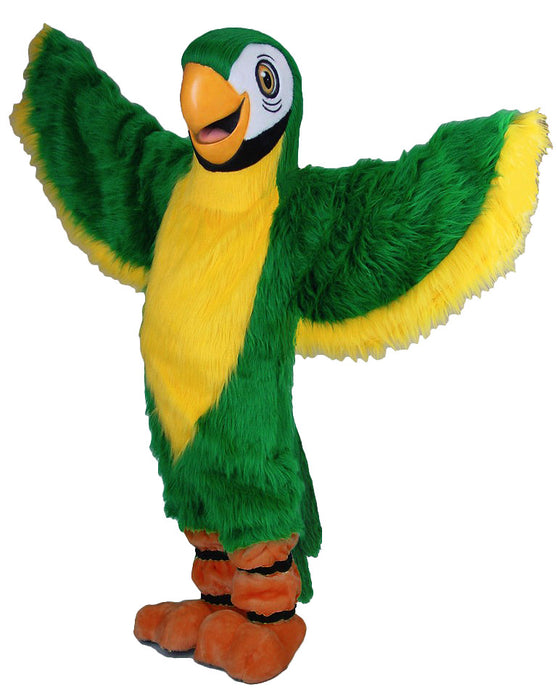 42085 Green Parrot Costume Mascot