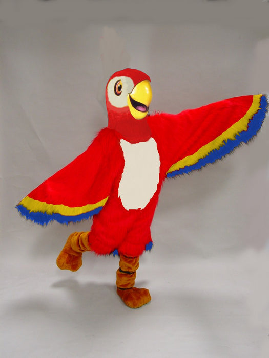 42087 Red Macaw Costume Mascot