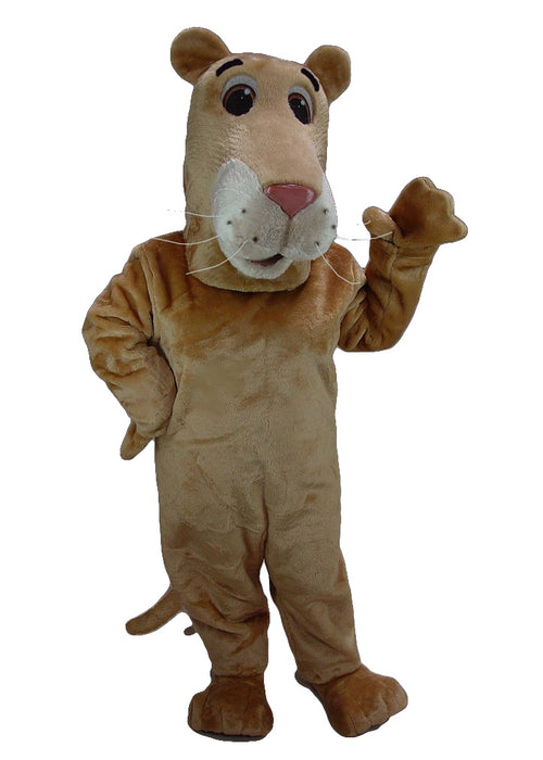 43078 Cartoon Lioness Costume Mascot