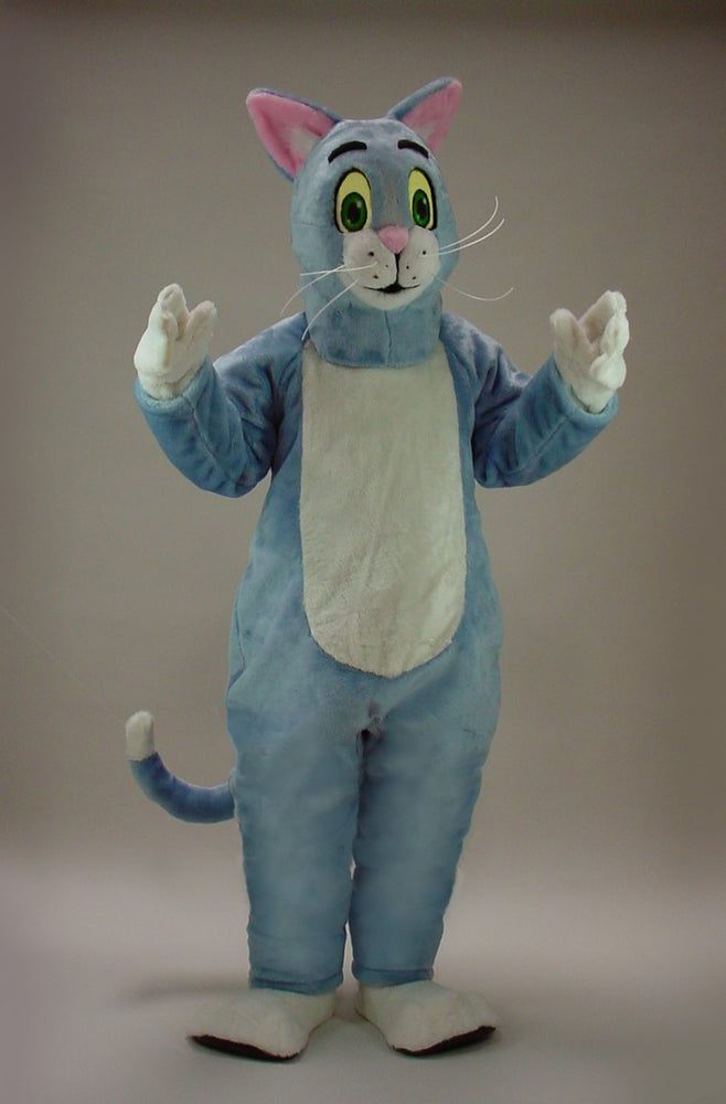 43086 Blue Cat Costume Mascot