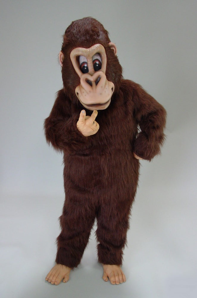 43287 Brown Gorilla Costume Mascot