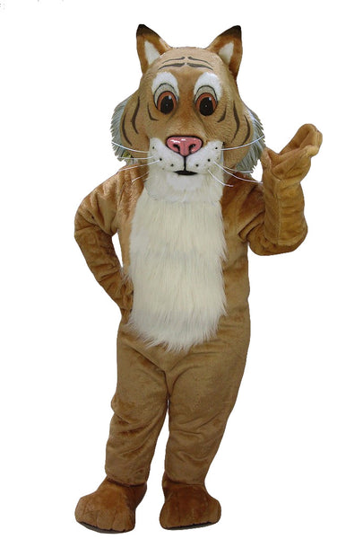 43708 Friendly Bobcat Costume Mascot