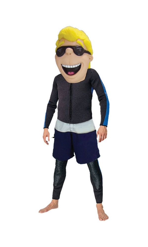 44153 CA Surfer Kid Head Only Mascot Costume