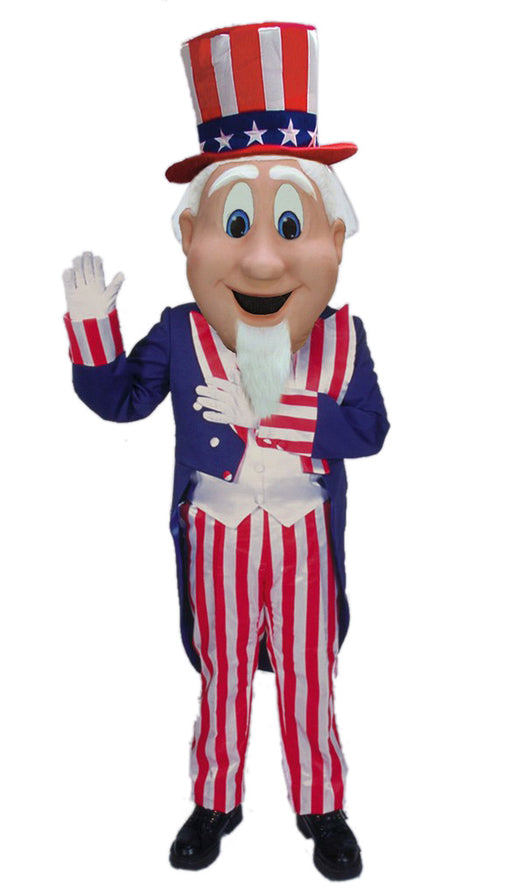 44248 Uncle Sam Patriotic Costume Mascot