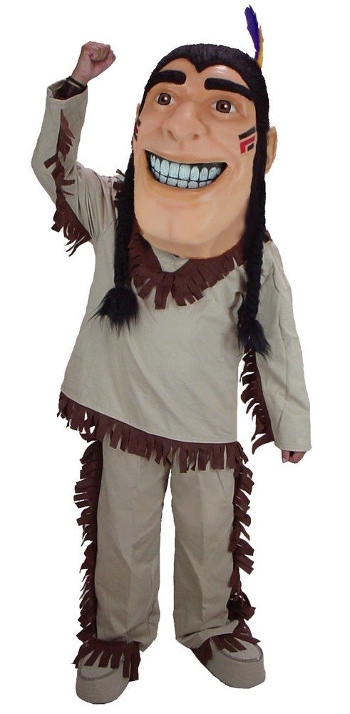 44301 Happy Brave Indian Mascot Costume