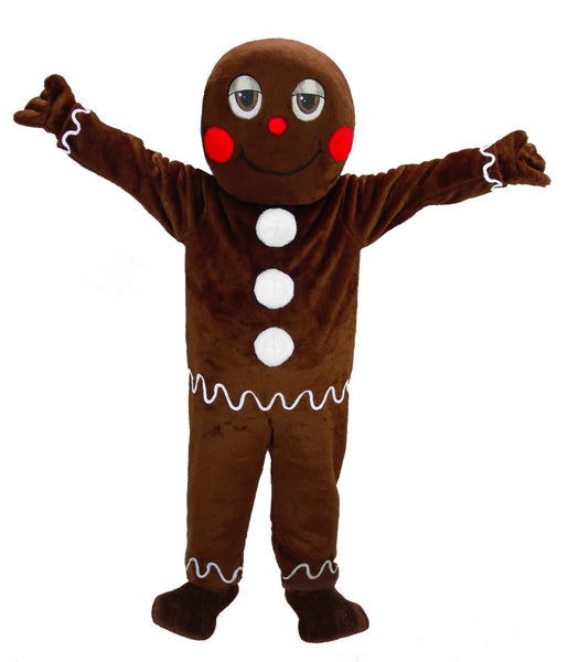 44345 Gingerbread Man Mascot Costume