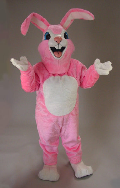 45003 Pink Rabbit Costume Mascot