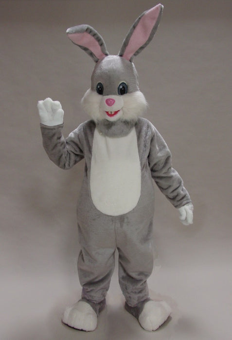 45006 Grey Easter Bunny Rabbit Costume Mascot