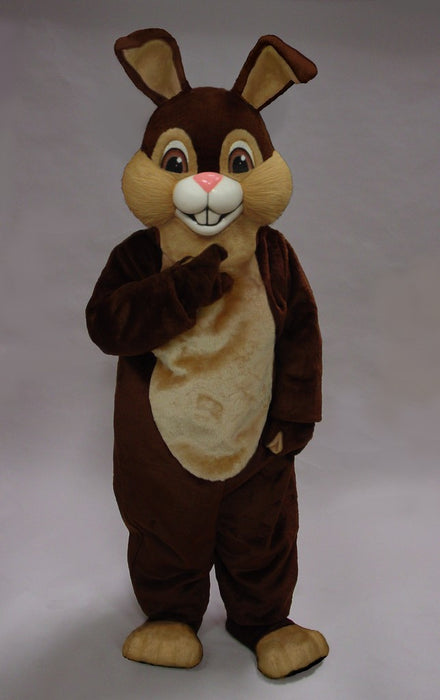 45009 Chocolate Rabbit Mascot