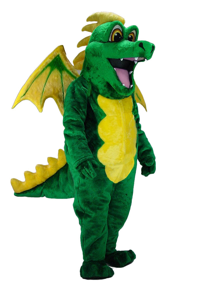 46105 Green Dragon Costume Mascot