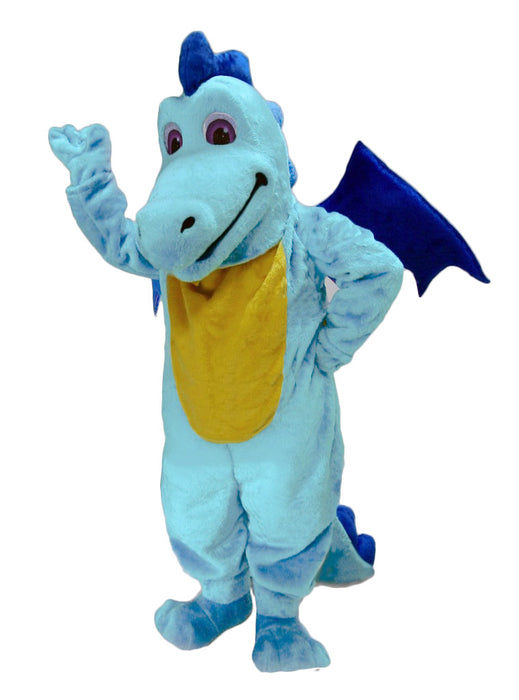 46108 Blue Dragon Mascot Costume