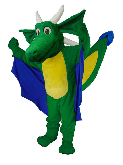 46444 Horned Dragon Mascot Costume