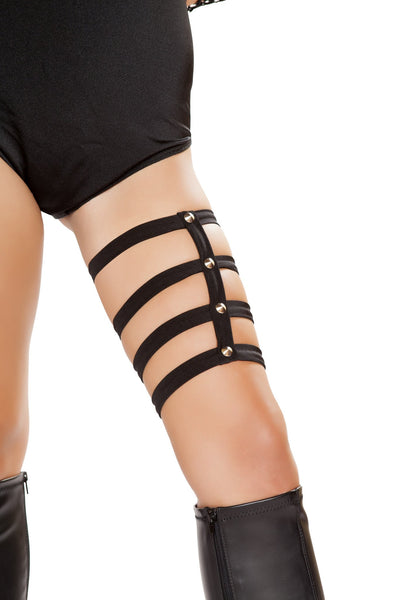 Studded Thigh Straps