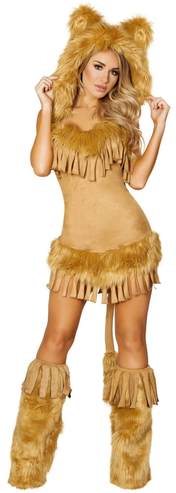 The Bashful Lion Costume Roma 4872