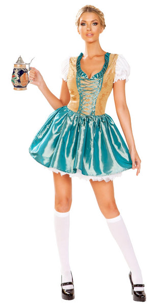 Beer Girl Oktoberfest Costume 4948 Roma